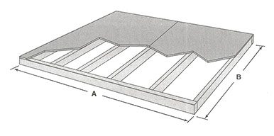Do it yourself shed kit floor instructions