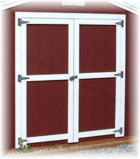 6 foot double door for shed
