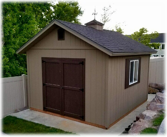 Apex shed company tall apex shed with custom roof pitch overhang and cupola solutioingenieria Choice Image