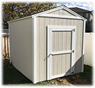Tall Apex Storage Shed