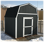 Tall Barn style shed basic