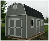 Super barn shed with options